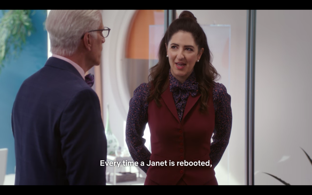 """Janet: """"Every time a Janet is rebooted,"""""""